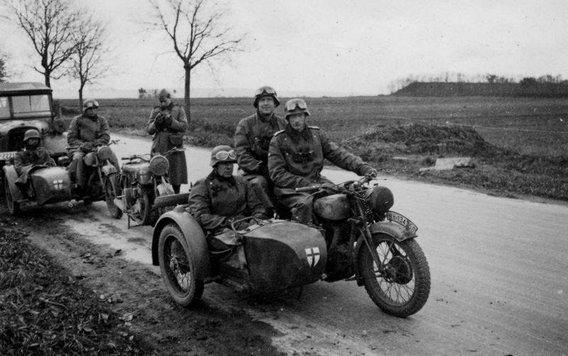 История мотоциклов с коляской