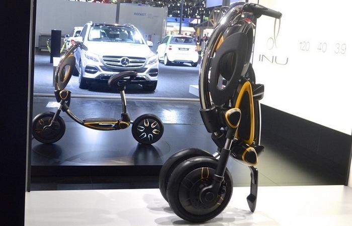 INU – футуристический скутер-трансформер