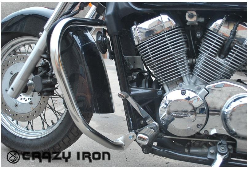 дуги crazy iron для honda vt750c shadow